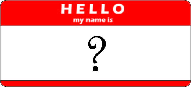My name is what?